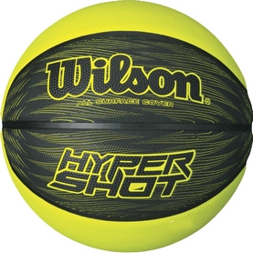 Мяч баскетбольный Wilson Hyper Shot RBR Basketball BKLI SZ6 Black-Yellow №6