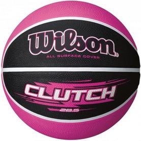Мяч баскетбольный Wilson Clutch BLPK SS16 Black-Pink