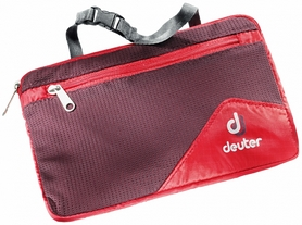 Косметичка Deuter Wash Bag Lite II fire-aubergine