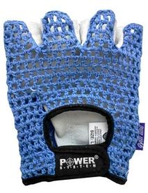 Перчатки для фитнеса Power System Basic PS-2100 Blue - 2XL