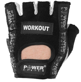 Перчатки для фитнеса Power System Workout PS-2200 Black
