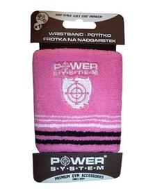 Повязка на кисть (напульсник) Power System Wrist Band PS-4000 розовая