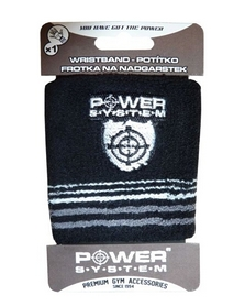 Повязка на кисть (напульсник) Power System Wrist Band PS-4000 черная