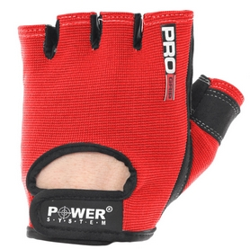 Перчатки для фитнеса Power System Pro Grip PS-2250 Red