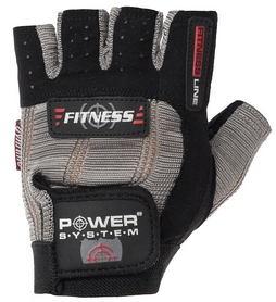 Перчатки для фитнеса Power System Fitness PS-2300 Black-Grey