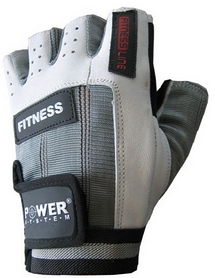 Перчатки для фитнеса Power System Fitness PS-2300 Grey-White