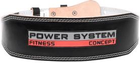 Пояс тяжелоатлетический Power System Power PS-3100 Black