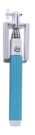 Монопод с проводом Z075Е голубой