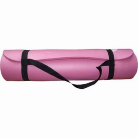 Коврик для йоги (йога-мат) Power System Fitness-Yoga Mat Plus Pink