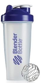 Шейкер BlenderBottle Classic 820 мл Clear/Purple с шариком