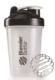 Шейкер BlenderBottle Classic 590 мл Clear/Black с шариком
