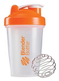 Шейкер BlenderBottle Classic 590 мл Clear/Orange с шариком