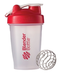 Шейкер BlenderBottle Classic Loop 590 мл Clear/Red с шариком