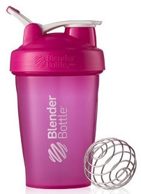 Шейкер BlenderBottle Classic Loop 590 мл Pink с шариком