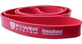 Резинка для подтягиваний (лента сопротивления) Power System Cross Band Level 3 Red