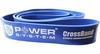 Резинка для подтягиваний (лента сопротивления) Power System Cross Band Level 4 Blue - фото 1