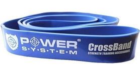 Резинка для подтягиваний (лента сопротивления) Power System Cross Band Level 4 Blue