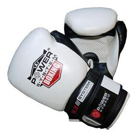 Перчатки боксерские Power System Boxing Gloves Impact White