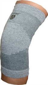 Суппорт колена Power System Elastic Knee Support Grey (2 шт)
