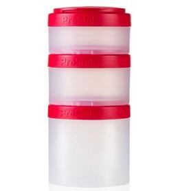 Контейнер для спортивного питания BlenderBottle Expansion Pak Original 500 мл прозрачный/красный