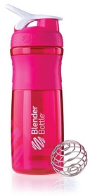 Шейкер BlenderBottle SportMixer 820 мл с шариком Pink