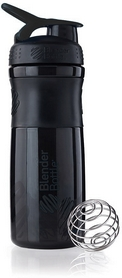 Шейкер BlenderBottle SportMixer 590 мл с шариком Black