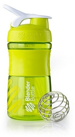Шейкер BlenderBottle SportMixer 590 мл с шариком Green