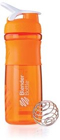 Шейкер BlenderBottle SportMixer 590 мл с шариком Orange