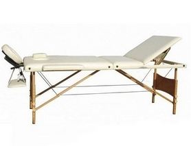 Стол массажный портативный Relax HY-30110-1.2.3 бежевый