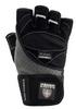 Перчатки атлетические Power System Raw Power Black-Grey - фото 1