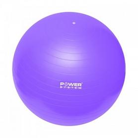 Мяч для фитнеса (фитбол) 65 см Power System Gymball фиолетовый