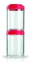 Контейнер для спортивного питания BlenderBottle GoStak 2 Pak Original 300 мл красный