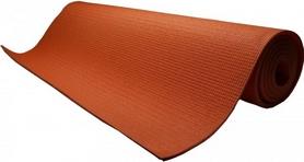 Коврик для йоги (йога-мат) Power System Fitness оранжевый