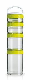 Контейнер для спортивного питания BlenderBottle GoStak Starter 4 Pak Original 350 мл зеленый