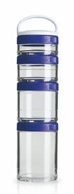 Контейнер для спортивного питания BlenderBottle GoStak Starter 4 Pak Original 350 мл фиолетовый