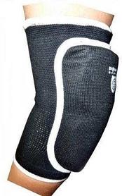Налокотники спортивные Power System Elastic Elbow Pad Black (2 шт)