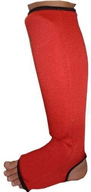 Суппорт голеностопа Power System Elastic Shin Pad Red (2 шт)