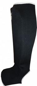 Суппорт голеностопа Power System Elastic Shin Pad Black (2 шт)