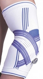 Суппорт локтя Power System Elbow Support Pro White/Blue, 1 шт