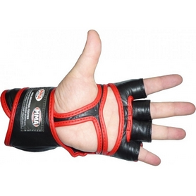 Фото 2 к товару Перчатки для MMA Power System Faito Red