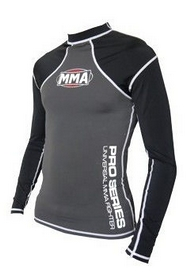Рашгард Power System MMA Combat Grey