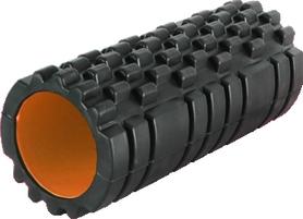Роллер для занятия йогой массажный Power System Fitness Roller orange