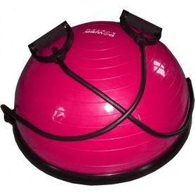 Платформа балансировочная Power System Bosu Balance Ball Set розовая