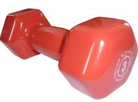 Гантель виниловая Power System Power Dumbell 3 кг (1 шт.)