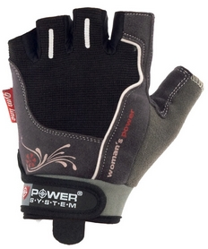 Перчатки спортивные Power System Woman's Power PS-2570 Black