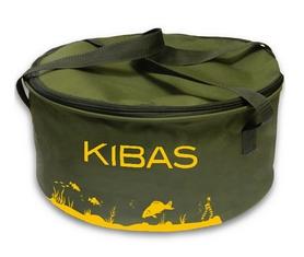 Ведро для прикормки c крышкой Kibas D400C