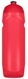 Бутылка спортивная Power System Rocket Bottle 750 мл прозрачный/красный