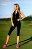 Комбинезон женский Designed For Fitness Zipper Capri Black - фото 1