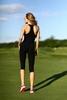 Комбинезон женский Designed For Fitness Zipper Capri Black - фото 2