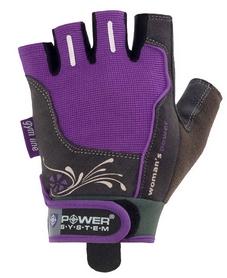 Перчатки спортивные Power System Woman's Power PS-2570 Purple - M